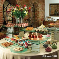 riser systems for the ultimate buffet displays
