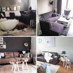 Onze nieuwe top 10 is online: http://hsfy.nl/top10w5 Hier 4 van de 10 welke bank zou jij het liefste in je huis willen hebben: A B C of D? Laat het hier onder weten @niwomato @fancy_athome @thuiskomen @thuis_bij_heidi