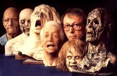 Dick Smith, the makeup artist on The Exorcist, Dark Shadows, Scanners and more, is dead at 97 Special Makeup, Special Effects Makeup, Cinema Makeup School, Science Fiction, Makeup Masters, Best Makeup Artist, Famous Monsters, Horror Icons, The Exorcist
