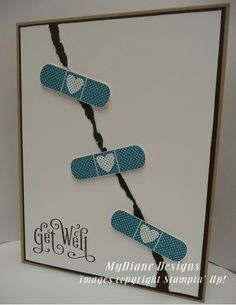 stampin up get well card - Google Search