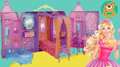 El Castillo Puerta Secreta de Barbie play doh Barbie Secret Door Castle ...