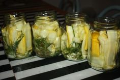 Preserves, Pickles, Cucumber, Mason Jars, Mango, Food And Drink, Dishes, Cooking, Thermomix
