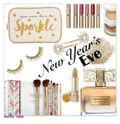 """""""NYE Beauty"""" by heather-reaves ❤ liked on Polyvore featuring beauty, Sephora Collection, Stila, Givenchy, Tom Ford, Trina Turk, Forever 21 and nyebeauty"""