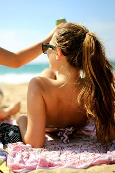 Nifty Trick to Summer Ponytail Perfection. Easy to have the best ponytail look! Beach Hair, Beach Bum, Beach Blonde, Summer Of Love, Summer Girls, Summer Beach, Summer Things, Sunny Beach, Summer Dream