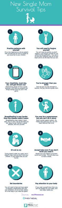 New Single Mom Survival Tips!