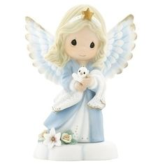 "Precious Moments Angel Figurine 4.5""h' 'part_number - 'part_number, 4.5h', Angel, Figurine, Moments, Precious"