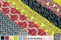By The Numbers Color Pallet by Lonni Rossi