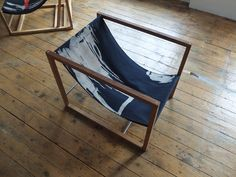 wonderfoul sling chair. a piece of art, actually. By Giles Round