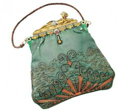 Egyptian Odalisque framed Evening Bag, Paris 1927 Van Cleef & Arpel's Collection