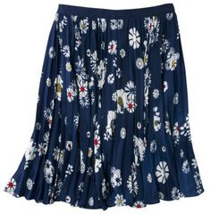 #Target                   #Skirt                    #Jason #Pleated #Navy #Floral #Skirt                Jason We Pleated Navy Floral Skirt                                            http://www.seapai.com/product.aspx?PID=864631