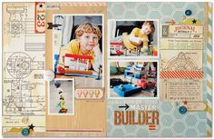 kim watson ★ design ★ papercraft: Some Layouts + FREE cutting file.