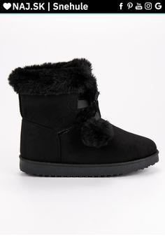 Módne čierne snehule CnB Ugg Boots, Uggs, Winter, Shoes, Fashion, Winter Time, Moda, Zapatos, Shoes Outlet