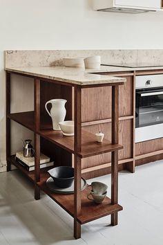 Home Interior Design .Home Interior Design Kitchen Interior, Kitchen Decor, Interior Livingroom, Kitchen Furniture, Green Kitchen, Bespoke Kitchens, Oak Kitchens, Wooden Kitchens, Nordic Kitchen
