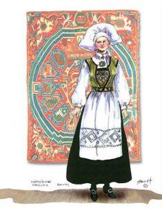 Kvinnebunad, Hordaland Lady