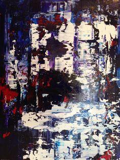 """Untitled by Heather Buechler   $250   18""""w x 24""""h   Original Art   http://www.vangoart.co/buy/art/untitled--69 @VangoArt"""