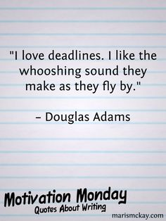 Quotes About Writing | MarisMcKay.com