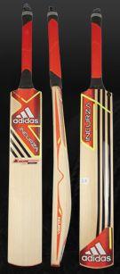 adidas Incurza Elite English Willow Cricket Bat - Pop-Punjab-White