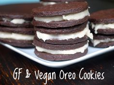 Recipe for Gluten Free, Egg-Free, Dairy-Free Gluten-Free and Vegan Oreo Cookies (and cupcakes)