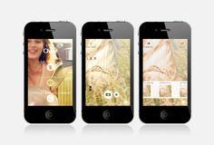 App L'eau de Chloé Mobile Application, Mobiles, Phone, Water, Telephone, Mobile Phones