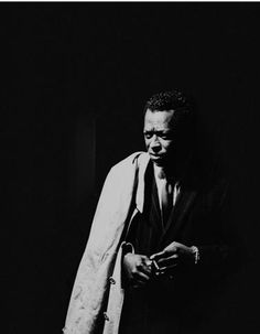 Miles Davis, April 1961, Photographed at the Black Hawk Nightclub by Leigh Wiener, San Francisco.