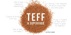 TEFF - Meet the New Grain-Like Seed That�s a Real Protein and Calcium-Packed Superfood