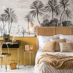 Yellow room ideas: 23 way to update your home for spring Decor, Bedroom Inspirations, Home Bedroom, Yellow Room, Bedroom Interior, Interior Deco, Interior, Home Decor, Home Deco