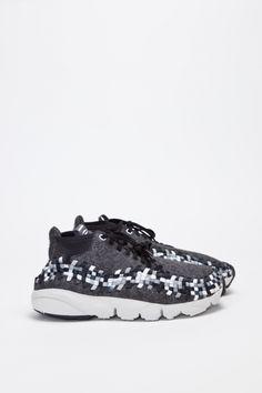 28d798193bae2 Nike Sportswear Air Footscape Woven Chukka QS - Black Grey