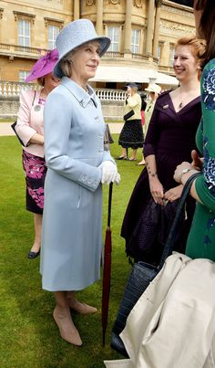 Noblesse et Royautés:  Garden Party for the 100th Anniversary of the Women's Institute, Buckingham Palace, June 2, 2015-Duchess of Gloucester