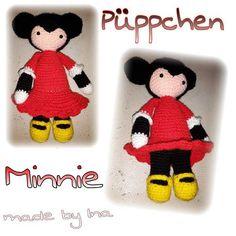 Püppchen Minni-Art - made by Ina | Kostenlos