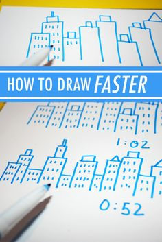 Do you feel like there just aren't enough hours in the day for drawing? Here are a few greats tips for how to draw faster and, therefore, more — on Craftsy!