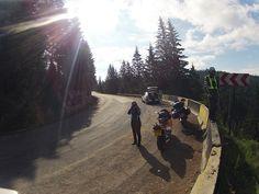 Sun rays at Motoride Transylvania