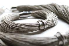 Minimalistische sieraden de zilveren linnen door DreamsFactory