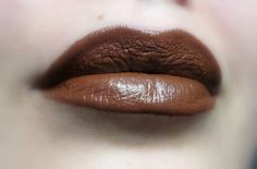 Brown Lipstick  Hot Choco  Nourishing  All by FierceMagenta, $8.00