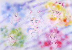 Manga. Inner Sailor Senshi.