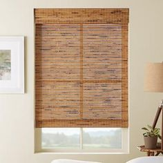 Premier Natural Wood Shades 6604