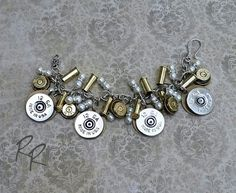 Ammo Bullet Bracelet by Repurposed Relics of Texas ammo jewelry, bullet jewelry, . Ammo Jewelry, Boot Jewelry, Cowgirl Jewelry, Bullet Jewelry, Western Jewelry, Shell Jewelry, Jewelery, Metal Jewelry, Ammo Crafts
