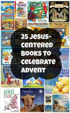 25 Jesus Centered Books to Celebrate Advent from VanderbiltWife.com // featured on TruthintheTinsel.com as an Elf on the Shelf alternative