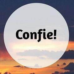 #bomdia Palavra de ordem pro dia  #confiança #confie #confieemdeus #confiar