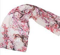 hijab gauze Summer Silkworm Crepe satin Plain100% Mulberry silk Scarf Women Wrap Shawl long Scarves Gift 55*172cm print Titoni