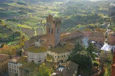 San Miniato, hilltop town in the Pisa district