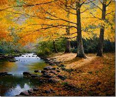 paisajes Pinturas al óleo de Miguel Peidro 12