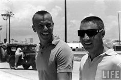 Al Shepard and Gus Grissom