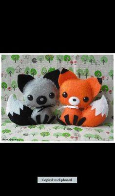 Racoon&fox