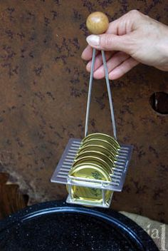 Canning Lid Rack