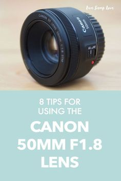 Today I'm going to share some tips for using the Canon 50mm F1.8 lens.I know that many of you will have this lens, because it's probably the one that most people go for when upgrading from their kit lens. When I first got this lens a few years ago, I would hear about the quality of it for the