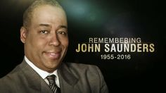John Saunders made it look easy, as a broadcaster and a friend