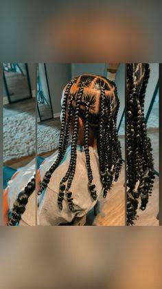 African American Braids, African Braids, Slick Hairstyles, Braided Hairstyles, Black Box Braids, Poetic Justice Braids, Single Braids, Loose Braids, French Hair