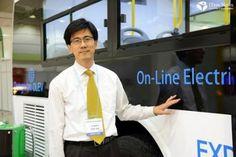 Uma tecnologia que promete mudar as perspectivas do mercado de carros movidos à eletricidade começou a ser testada em dois ônibus na Coréia do Sul: a recarga sem fio. Conhecidos como Veículos Elétricos Online (Olevs, na sigla em inglês), esses meios de transporte podem encher suas baterias enquanto