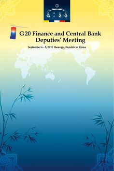 G20 Finance and Central Bank Deputies' Meeting  Creative Designed by WITCHFACTORY