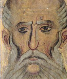San sava di Gerusalemme. 1208 - 1209 Byzantine, Fresco, Tiles, Saints, Icons, Patterns, Painting, Men, Western World